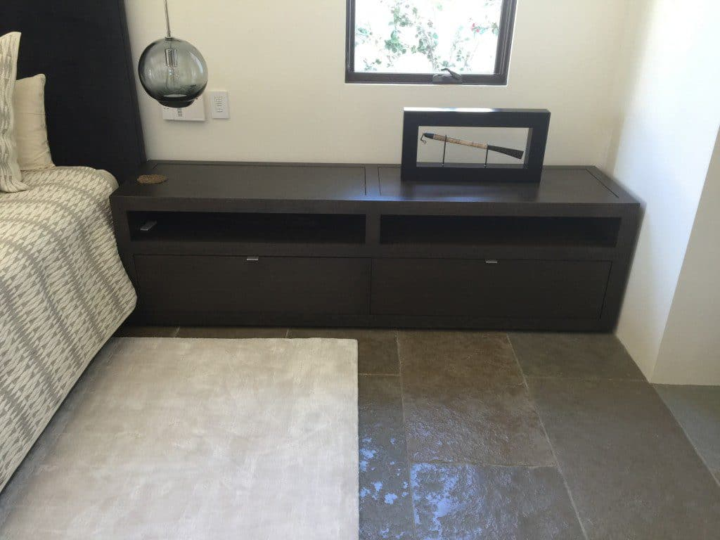 CUSTOM NIGHTSTANDS, ESPRESSO, LQ