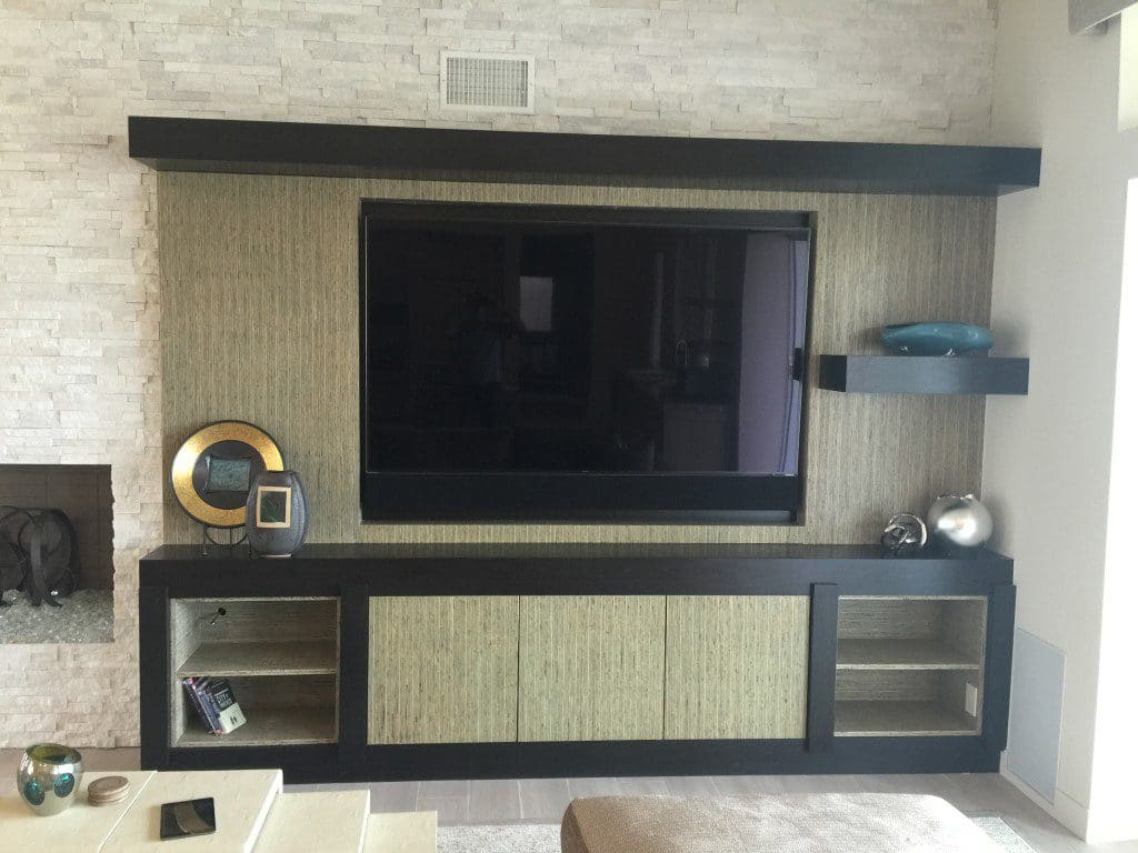 ENTERTAINMENT CENTER, KEREI ECO FRIENDLY WOOD, PALM DESERT